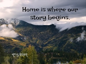 Scripture and a Picture ~ Home