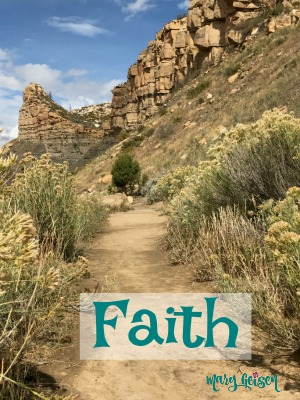Scripture and a Picture ~ Faith