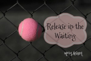 Sabbath Offerings ~ Release in the Waiting