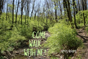 Come Walk With Me!