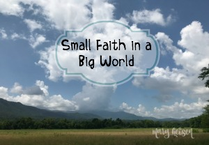 Small Faith in a Big World