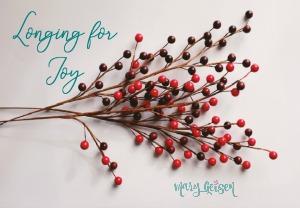 Longing for Joy