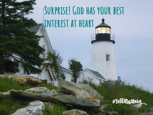 Surprise! God Has Your Best Interest at Heart- Guest Post