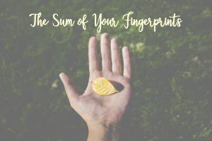 The Sum of Your Fingerprints