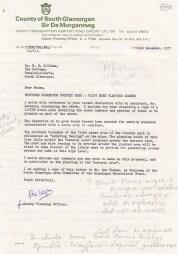 Cosmeston discussions 1979