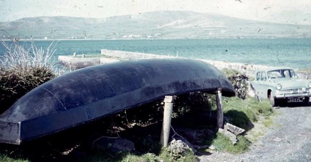 Curragh at Cuan Pier, 1960s