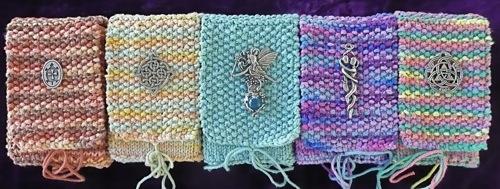 Knitted Tarot Case Instructions Mary K Greer S Tarot Blog