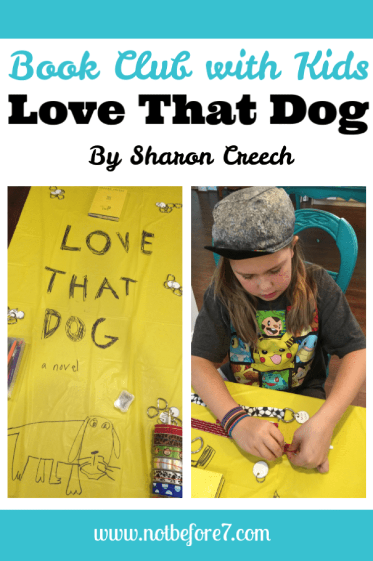 Host a Love That Dog book club for kids.