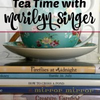 Themed Poetry Tea Time: Tea with Marilyn Singer