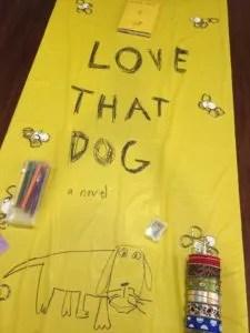 Love That Dog Book Club