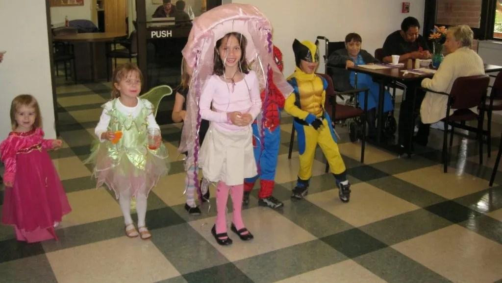 Halloween at the Senior Center
