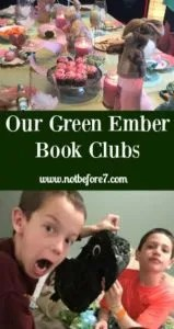 Check out all of the food, decorations, and games you need to enjoy a book club with boys or girls (or both).