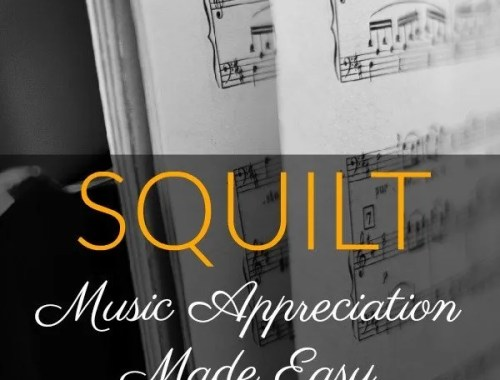 SQUILT music lessons are easy to implement music appreciation lessons that are perfect for your homeschool. Read my full SQUILT review and learn how we are implementing this curriculum.