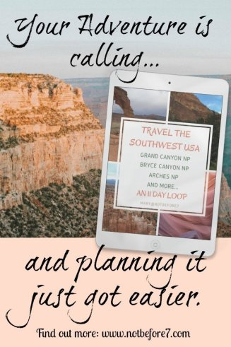 Travel the Southwest USA with your family! This 40+ page guide makes planning so much easier with tips and suggestions from tours to hotels to dining!
