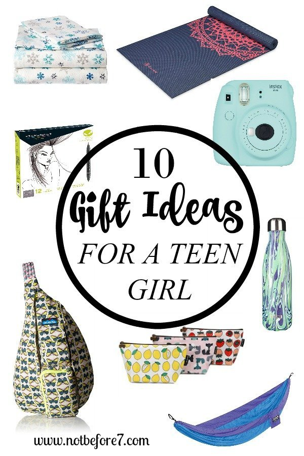 Make gift giving easy with this life of gift ideas for a teen girl.