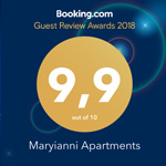 Guest Review booking awards 9.9