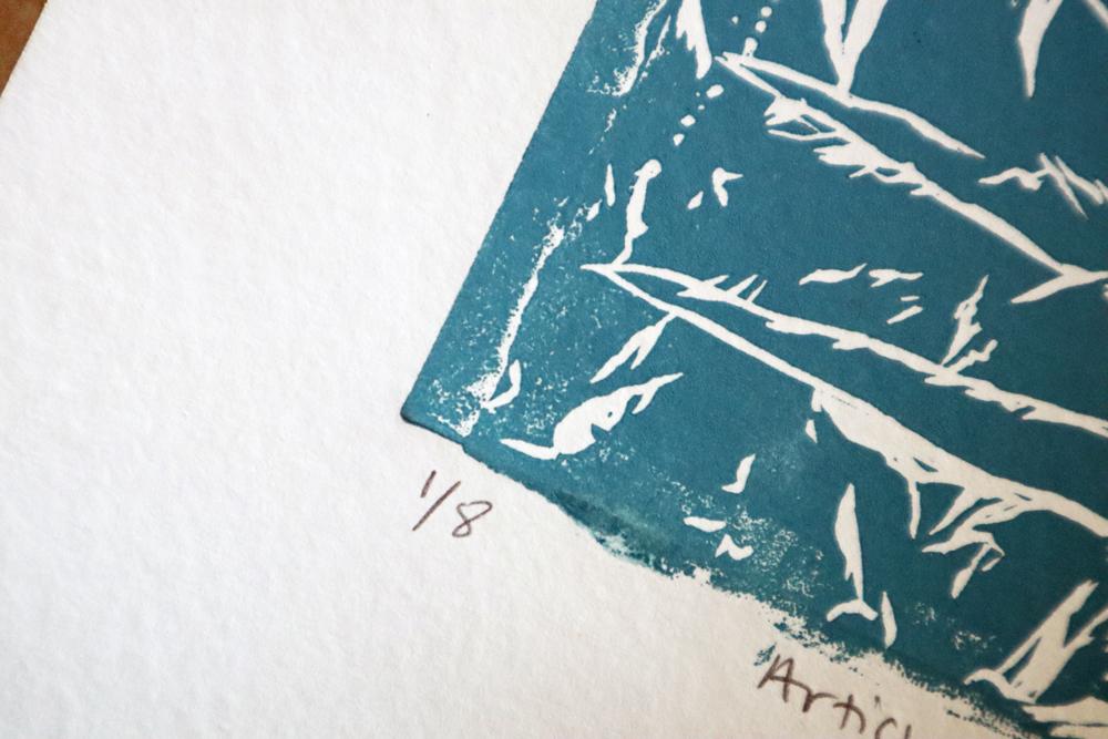Editioning numbers in Printmaking