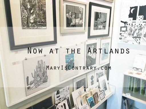 Mary Vasquez Art in the art Gallery The Artlands in Redlands