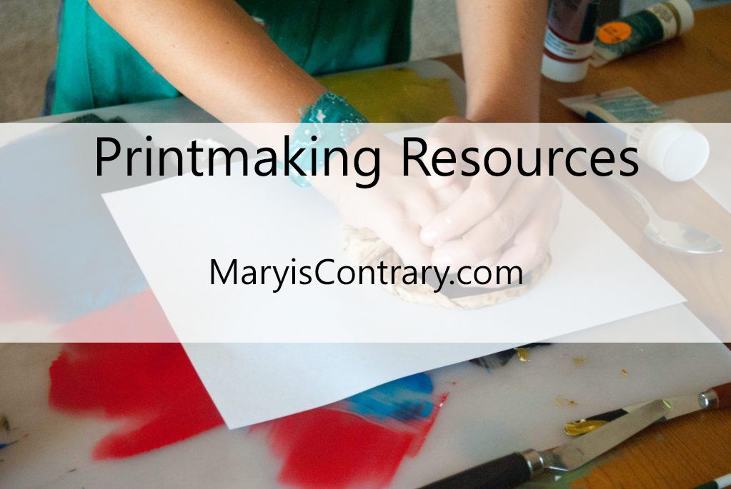 Printmaking Resources