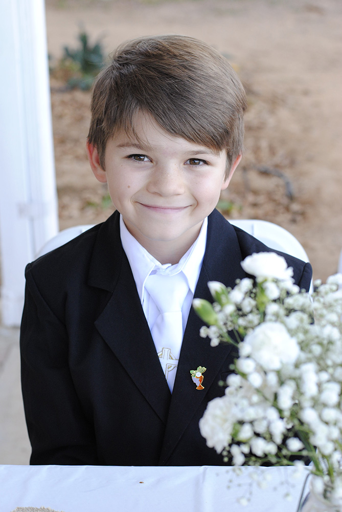 Portrait Photography - First Communion
