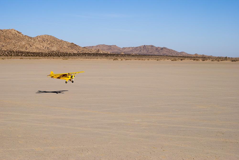 Landscape Photography - Radio Control Plane