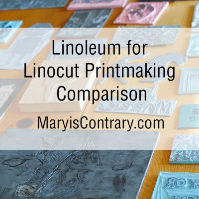 Linoleum for Linocut Printmaking Comparison