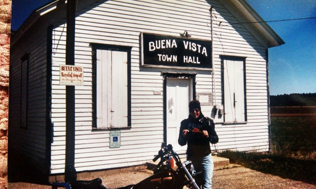 This town hall is out in the middle of nowhere on Hwy 54