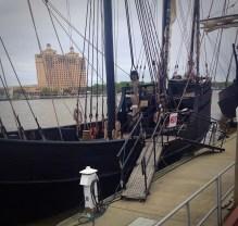 Pirate Ships in Savannah