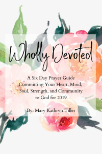 Start 2019 off right by committing your heart, soul, mind, strength and community to God through this six-day prayer guide. Found at MaryKathryntiller.com. #biblestudy #prayer #prayerguide #faith #christian #newyear #newyearresolution