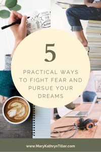 Chasing your dreams can be exhilarating. It can also be overwehleming! Here are five practical ways you can hold on to peace while pursuing your dreams.