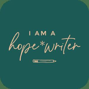 Hope*Writer Badge
