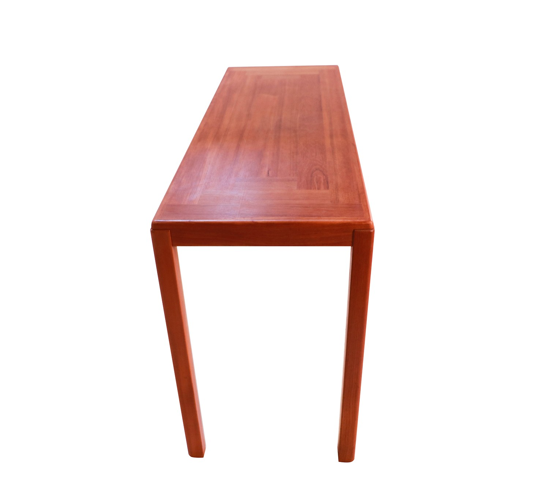 Vejle Stole Mobelfabrik Danish Modern Teak Console Sofa Table