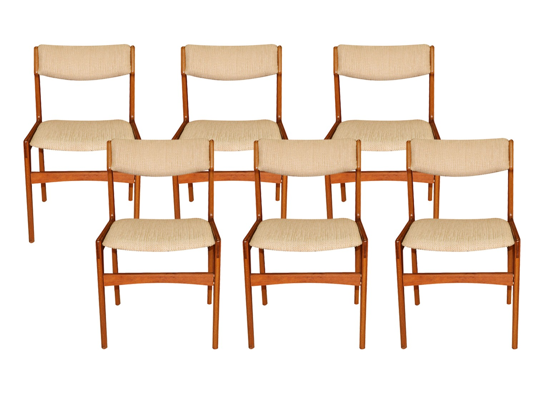 Mid Century Danish Teak Dining Chairs