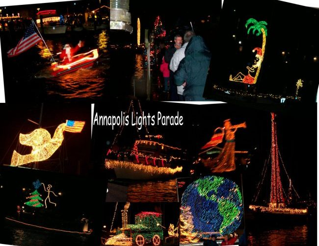 Annapolis Christmas Light Boat Parade December 9 Our