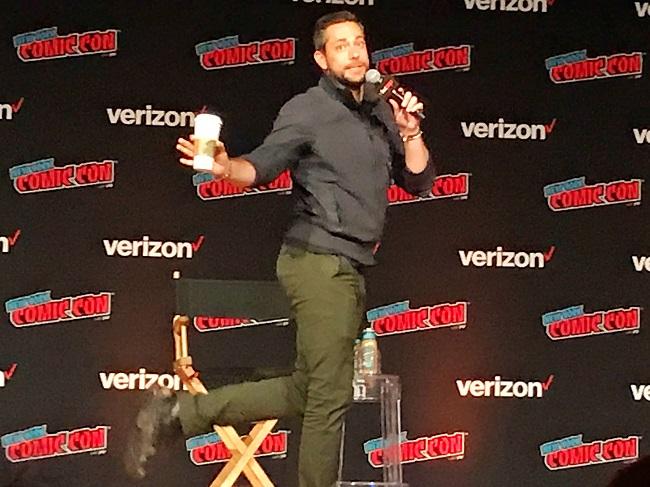 Zachary Levi at NYCC