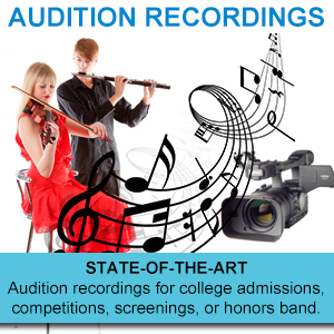 Audition Recordings