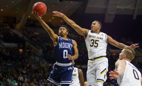 Mount Saint Mary's V.S. #13 Notre Dame Men's Basketball ...