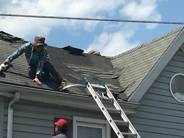 Storm Damaged Roof Replacement