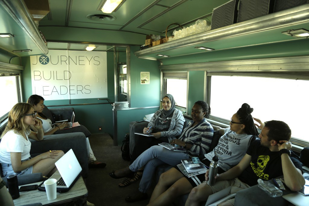 The Millennial Train Project brings together young entrepreneurs.