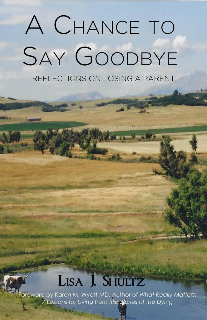 A Chance to Say Goodbye Lisa J Shultz
