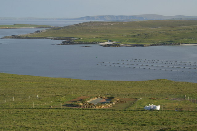 Sagas:Viking house, Keen of Hamar - geograph.org.uk - 1372692.jpg