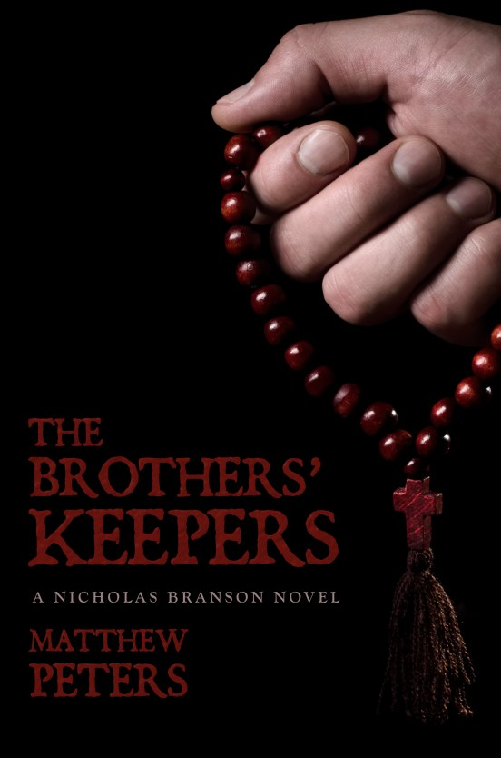 book launch Matthew Peters The Brothers' Keepers