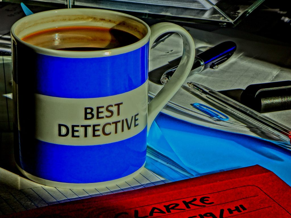 best detective mug