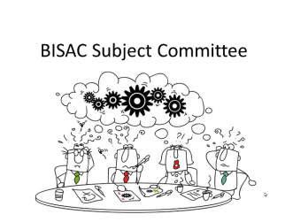 BISAC Study Committee