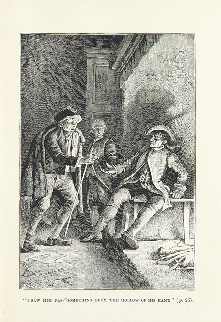 Voice in fiction. Image taken from page 45 of '[Treasure Island ... Second edition.]'