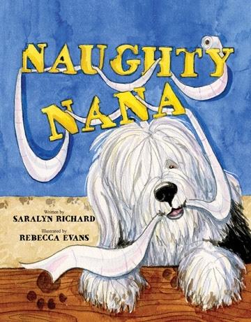 writing Naughty Nana children's book