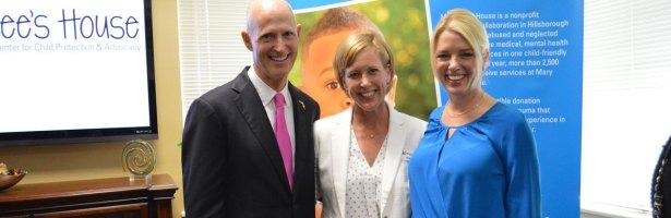 Governor Rick Scott Visits MLH