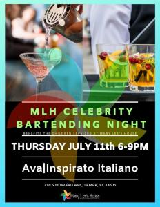 Celebrity Bartending Event @ Ava