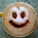 Smiley coffee