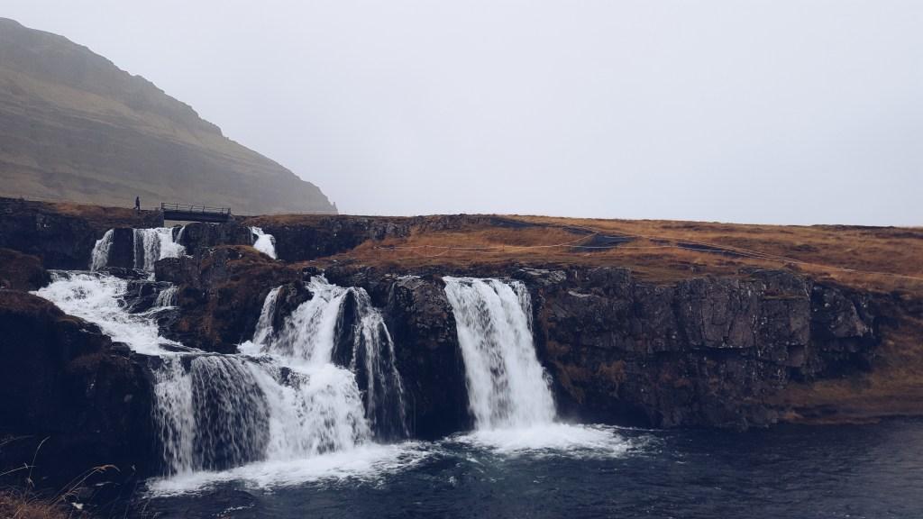 Snæfellsnes - Kirkjufell-Wasserfall